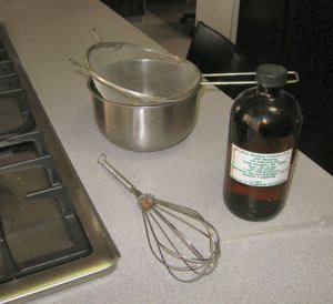 What I use to make flax seed gel